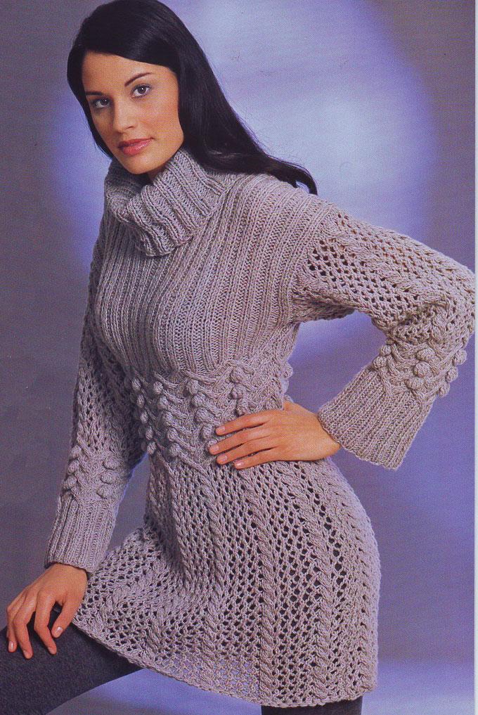 Платья » Схемы вязания